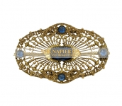 c. 1910-1920s E. A. Bliss Sash Pin