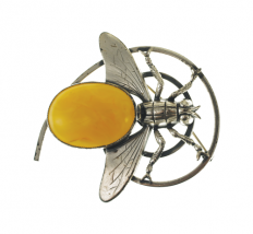 1920s Napier Bee Motif Pin