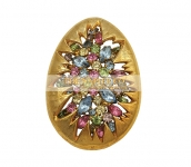 1960s Napier Easter Egg Conversation Pin