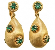 Napier_Earrings_1950s_Textured