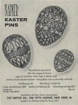 Napier Easter Pin Ad