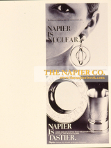 Napier is Nuclear 1970s Jewelry  Advertisement