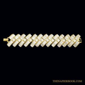 Napier Starlight Rhinestone Bracelet