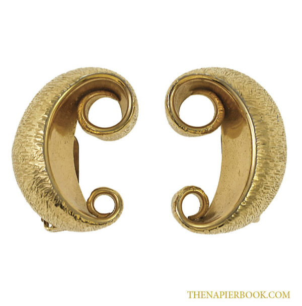Vintage Napier 1950s Amos Parrish Earrings