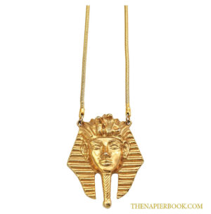 Napier King Tutankhamun Pendant Necklace