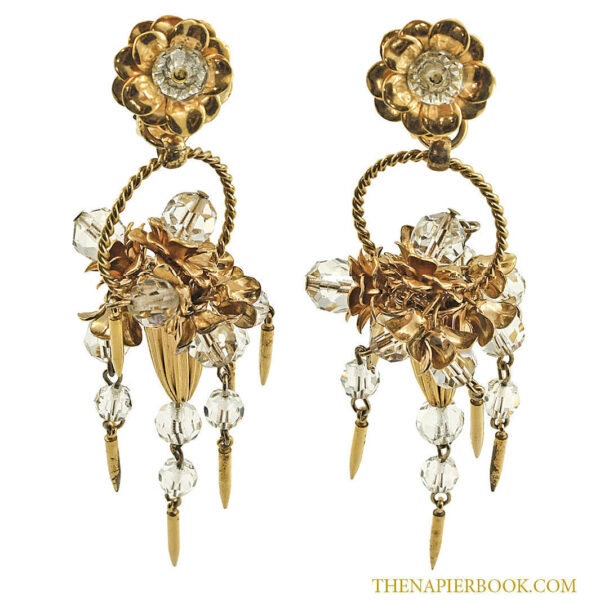 Marilyn Monroe Napier Earrings