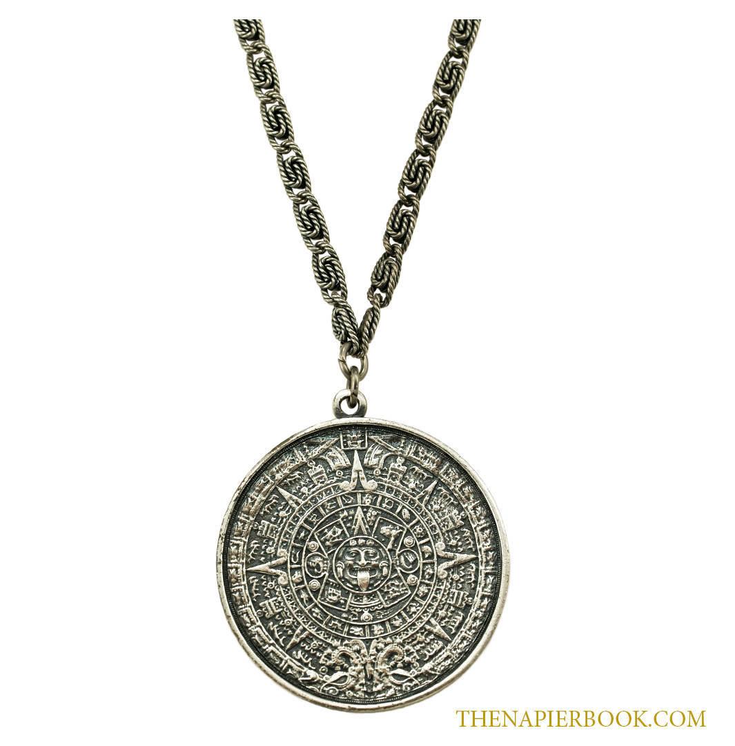 Napier aztec pendant necklace the napier book online source napier aztec pendant necklace mozeypictures Images