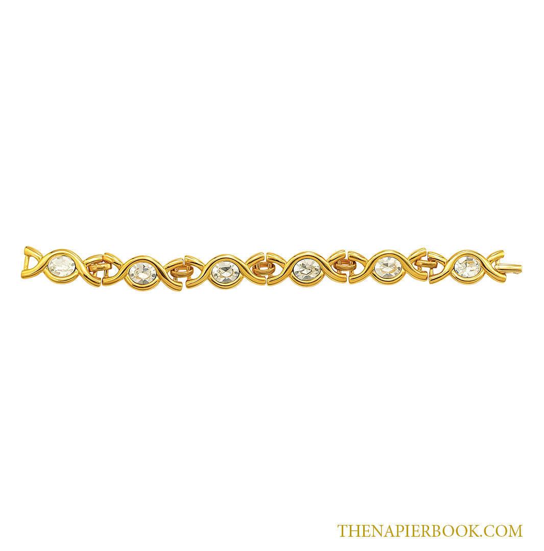 Napier Rhinestone Bracelet Nightlights Collection