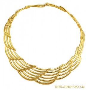 Napier Couture Legends Collection Collar Necklace