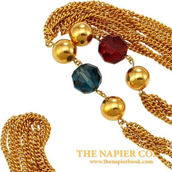 "Vintage Napier ""Royalton"" Station Necklace"