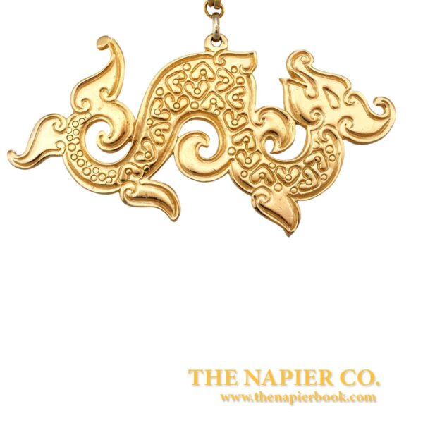 Vintage Napier Dragon Pendant From The Dynasty Collection