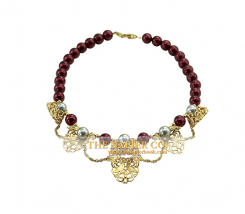 Napier necklace, 1985, Woodland Hues Collection