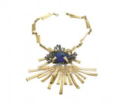Napier Necklace, c. 1970s, designer Eugene Bertolli