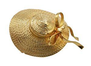 Mother Daughter Series Hat Figural Pin