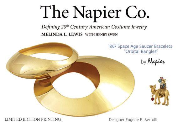 """Napier """"Orbital Bangles"""" by Eugene E. Bertolli"""