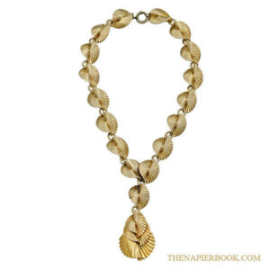 Napier Y-Shaped Gold-plated Necklace