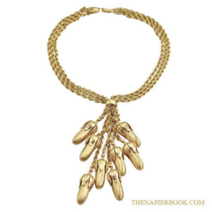 Napier 1950s Y-style Drippy Necklace