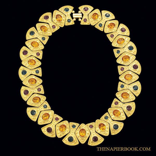 Napier Limited Edition Rhinestone Collar Necklace