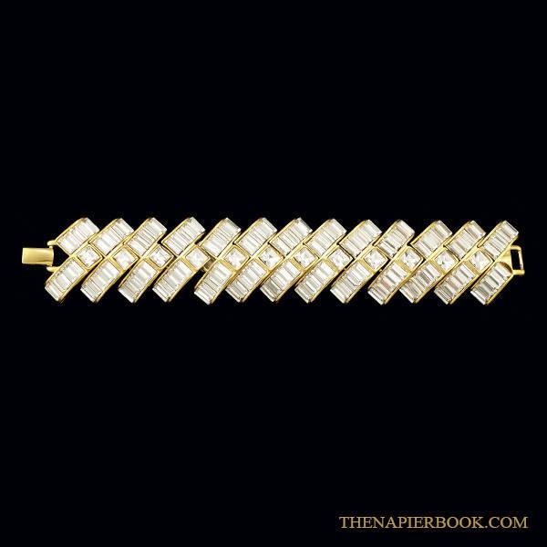 Napier Starlight Collection Rhinestone Bracelet