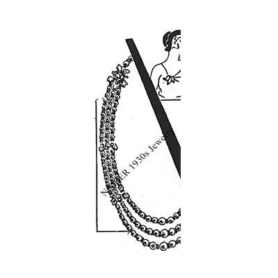 Napier 1930s Prystal Jewelry WWD