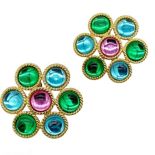 Vintage Napier 1992 Miami Earrings