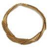 Napier 1990s Geometric Collar Necklace