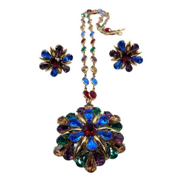 Napier Fontana Sisters Necklace Set