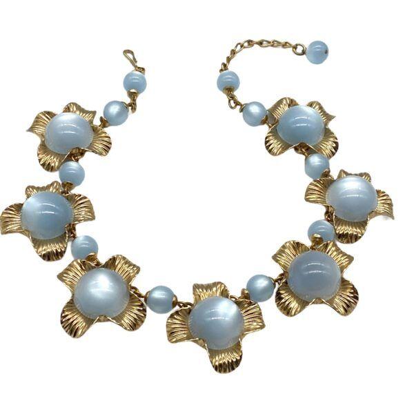 Napier Moonglow Collar Necklace