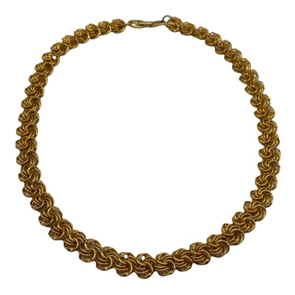 Napier 1990s Gold-plated Necklace Chain